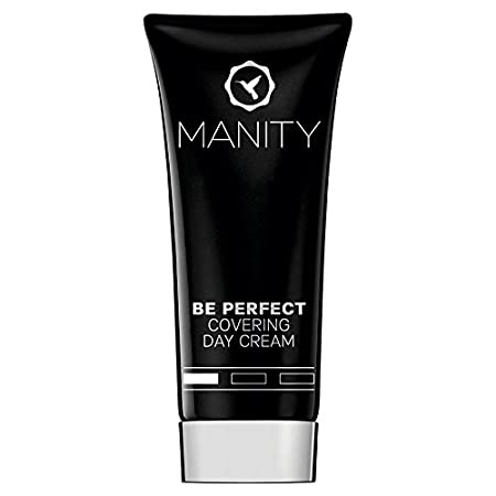 """MANITY """"BE PERFECT 1"""" hell Covering Day Cream 40 ml - Getönte Tagescreme (BB Creme, CC Creme, getönte Tagespflege) zur Kaschi"""