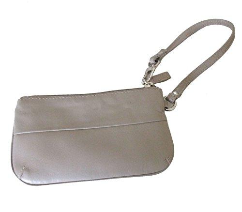 Golunski Soft Leather Ladies Wrist Purse / Mini Bag (Taupe)