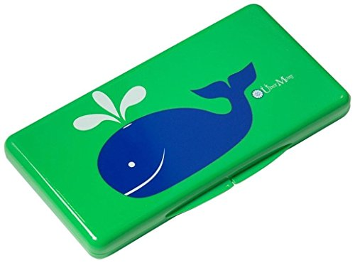 Durable, Stylish, Reusable, Designer Wipe Case in Green