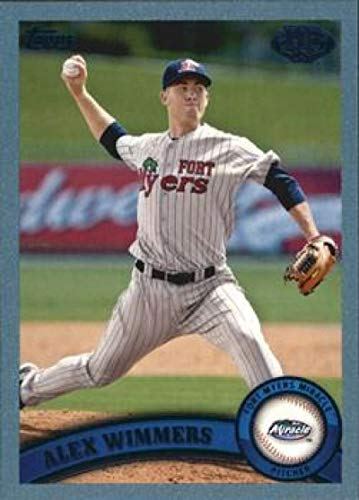 2011 Topps Pro Debut Blue #74 Alex Wimmers Fort Myers Miracle MLB Baseball Card /309 NM-MT