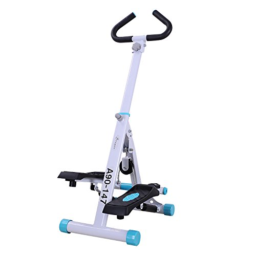 Stepper Stair Home - Soozier Adjustable Twist Stepper Aerobic Ab Exercise Fitness Workout Machine