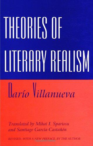 Theories of Literary Realism (SUNY Series, Margins of Literature) (Suny Series, the Margins of Literature)