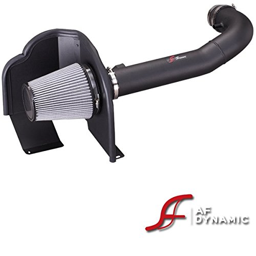 R&L Racing AF Dynamic Black Air Filter Intake Systems with Heat Shield 2014-2016 for Chevy Silverado Sierra 1500 4.3 V6 ()