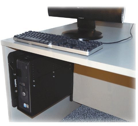 33945 Universal Desktop Enclosure, Computer Security Plate System Large