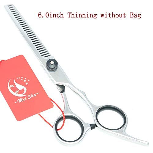1 Set Meisha 6 inch Professional Hairdressing Scissors Set Japan 440c Barber Tesouras Cutting Thinning Styling Tools HA0119