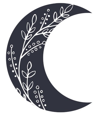 Crescent Moon Silhouette