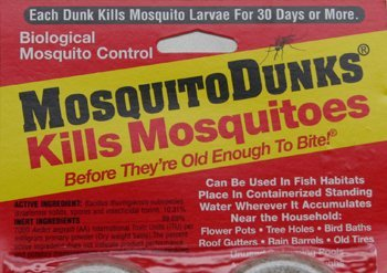 Mosquito Dunks 6 piece package