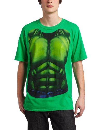 [Mad Engine Men's Smash Costume T-Shirt, Kelly Green, XX-Large] (Hulk Costumes Adults)