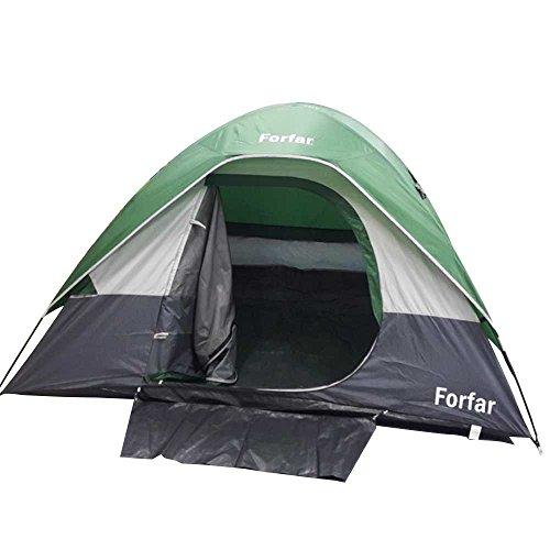 輝く不誠実輝くBeautyrain 1個 キャンプ防水防風ドームテント 旅行キャンプの理想的な設備とツール