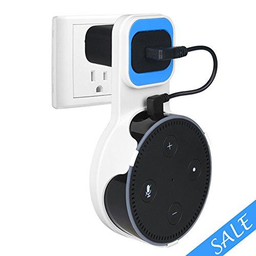 ซื้อตอนนี้! Wall Mount Stand Holder for Echo Dot 2nd Generation, Stable Echo