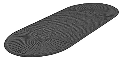 EcoGuard Diamond Indoor Wiper Floor Mat, Recycled Plactic and Rubber