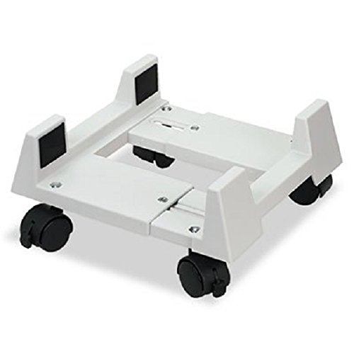 Mobile CPU Stand, 8-3/4w x 10d x 5h, Light Gray, Sold as 1 Each by Innovera
