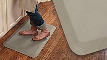 NewLife By GelPro Professional Grade Anti Fatigue Kitchen U0026 Office Comfort  Mat, 20x32,