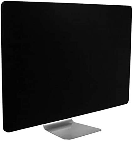 CDC Protector de Pantalla para computadora de Escritorio, 21 Pulgadas 27 Pulgadas Monitor de iMac Cubiertas de Polvo de Pantalla Monitor de PC Estuche de Panel antiestático a Prueba de polvo-Black-21: Amazon.es: