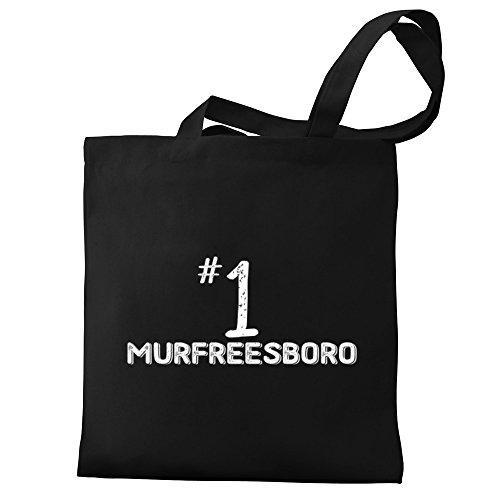 Eddany Number 1 Murfreesboro Canvas Tote - Murfreesboro Shopping
