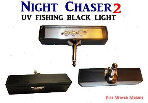 Night Chaser 2 UV Fishing Black Light with Hard Mono Jack