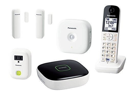 Panasonic KX-HN6003W Smart Home Monitoring System Home Monitoring and Control Kit (White) - Panasonic Outdoor Wireless Network