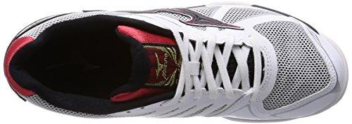 Mizuno voleibol zapatos Royal Phoenix Blanco / Negro / Rojo