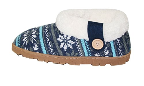 Slippers Para Mujer Slippers Warpa Botaie Zapatos (sll) (sll-4131) -blue