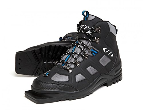 Whitewoods New Adult 301 3 Pin 75mm Nordic Cross Country XC Insulated Ski Boots (41)