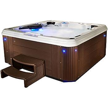 Amazon.com : Essential Hot Tubs - Decorum - 67 Jets, Lounger Acrylic ...