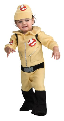 Costumes Movie Recognizable (Ghostbusters Romper Costume, Beige, 6-12)