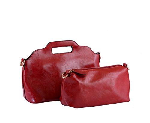 Splendeur d'Art®, Borsa a mano donna rosso rosso