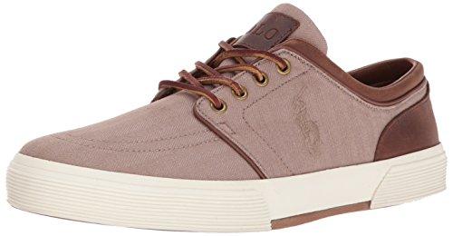 Polo Ralph Lauren Mens Faxon Bassa Kaki Sneaker / Tan