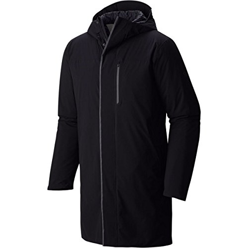 Mountain Hardwear Men's ZeroGrand Trench Coat Black Outer...