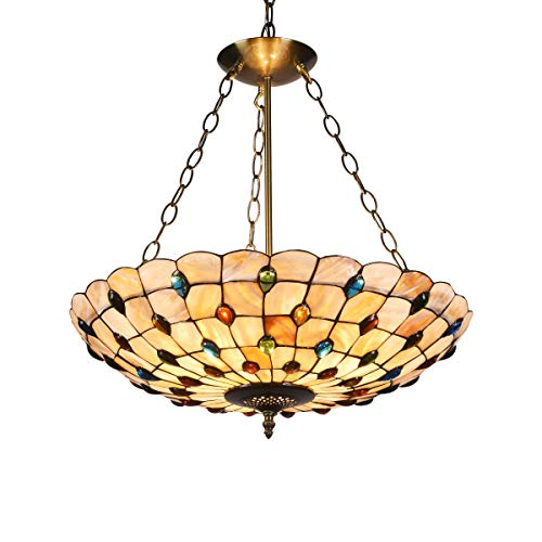 Somerset 3 Light Inverted Ceiling Pendant in Anti-Bronze Plated