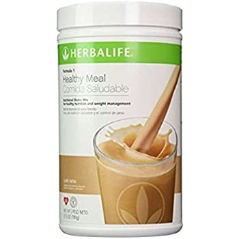 Herbalife Formula 1 Shake Mix - Cafe Latte (780g)