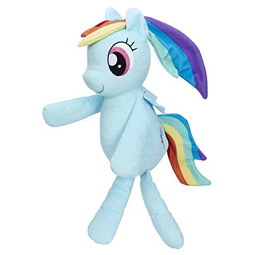 My Little Pony Friendship is Magic Rainbow Dash Huggable Plush]()