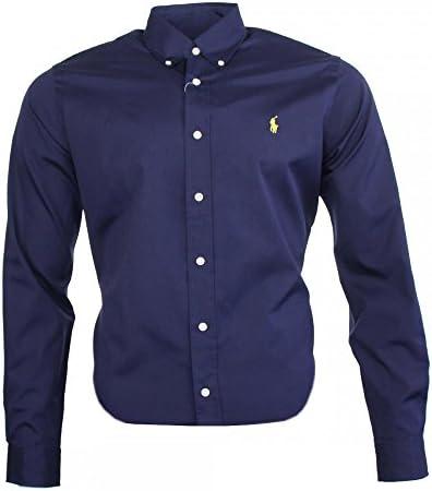 Ralph Lauren Classic Business Camisa azul marino: Amazon.es: Ropa y accesorios
