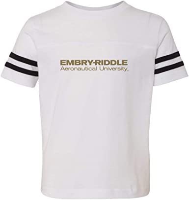 PPERAUW01 Youth T-Shirt NCAA Embry Riddle Aeronautical University-Worldwide Eagles