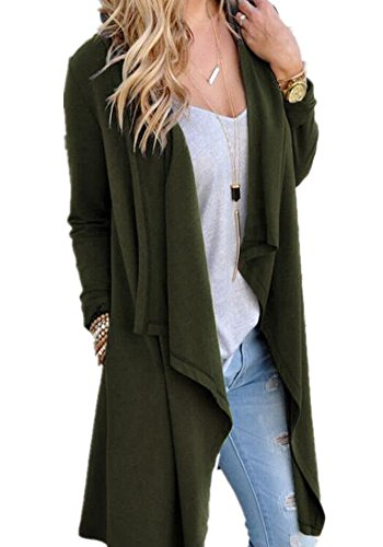 Poulax Womens Lightweight Knitted Cardigan