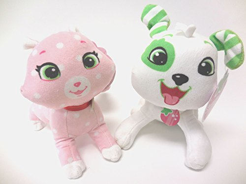 - Strawberry Shortcake Custard Cat and Pupcake Dog 8