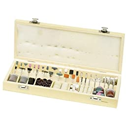 228pc Deluxe Rotary Tool Accessory Set for Dremel (Sanding | Polishing | Cutting)
