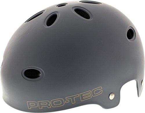 ProTec Omar Hassan B2 CPSC SXP Liner Matte Grey Skate Helmet - (Certified) - X-Small / 20.5