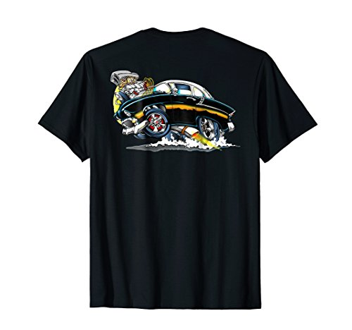 Hot 50s Rods - Hot Rod Retro T-Shirt! A Blast from the 50's!