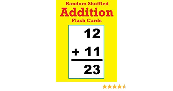 Young Kids Are Being Shuffled From One Activity To Another In >> Random Shuffled Addition Flash Cards Over 10 000 Questions Answers