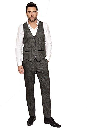 Marc Darcy - Costume - Costume - Homme noir charbon Auditor's Target Value
