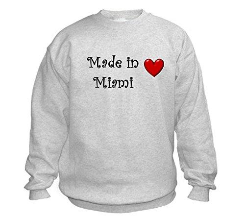 MADE IN MIAMI - City-series - Light Grey Sweatshirt - size XXL]()