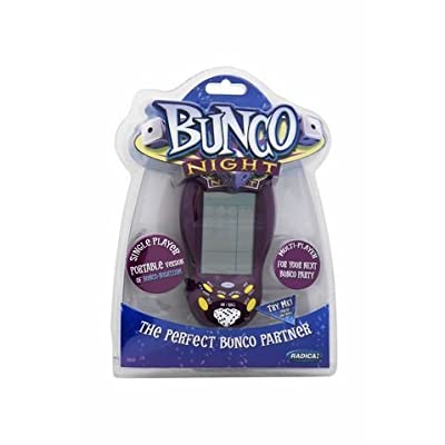 Bunco Night Hand-Held Electronic Game by Radica: Home & Kitchen