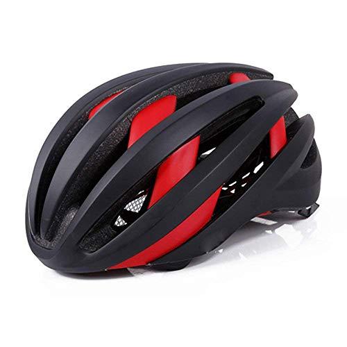 AsDlg Casco Bluetooth Inteligente LED, Casco de Ciclismo para Exteriores, Casco para Bicicleta, Insect Net Incorporado, Forro...