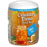 Country Time Sweet Iced Tea Drink Mix 18.3 oz. Canister