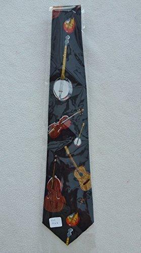 Corbata con los instrumentos de cuerda 1046 de los hombres/48 ...