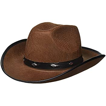 Kangaroo Brown Studded Cowboy Hat