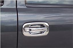 Putco 400011 Chrome Trim Door Handle Cover