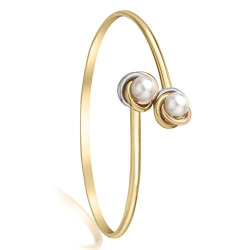 Carissima Gold - Bracelet - Or 3 couleurs - Perle - 3.35.2776