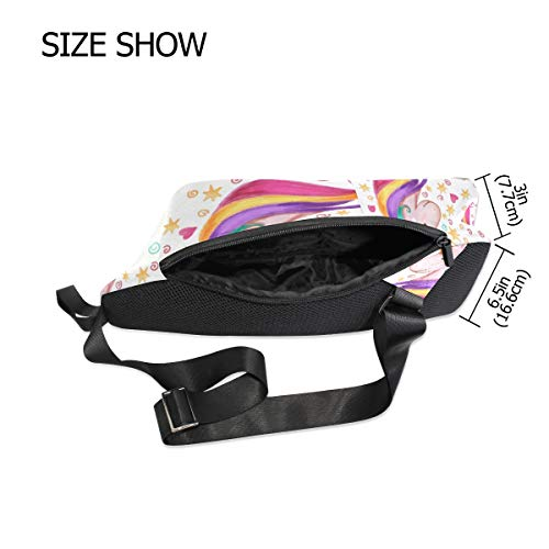 Bennigiry Small Bag For Backpack Women Shoulder Cross Waterproof amp; Chest Unicorn Men Sling Body ZTxrSZw